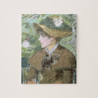 Manet | On the Bench, 1879 Jigsaw Puzzle