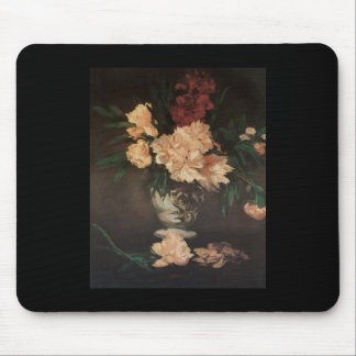 Manet Peonies Mouse Mat