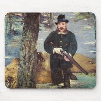 Manet | Pertuiset, Lion Hunter, 1881 Mouse Mat