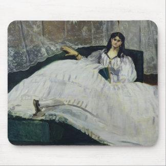 Manet | Portrait of Jeanne Duval, 1862 Mouse Pad