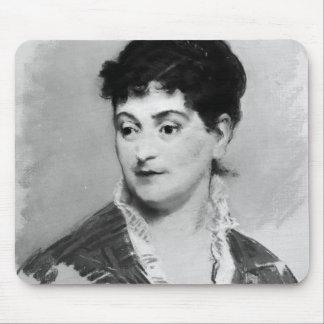 Manet | Portrait of Madame Emile Zola, 1874 Mouse Mat