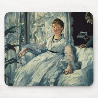 Manet | Reading, 1865 Mouse Pad