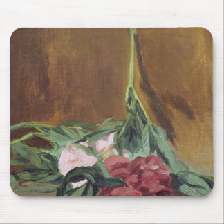 Manet | Stem of Peonies and Secateurs, c.1864 Mouse Mat