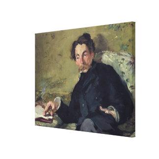 Manet | Stephane Mallarme  1876 Canvas Print