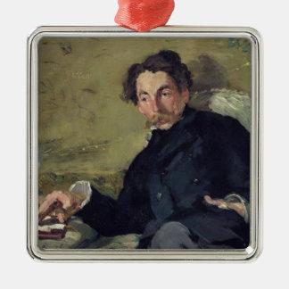 Manet | Stephane Mallarme  1876 Christmas Ornament