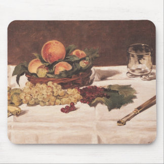 Manet | Still Life: Fruit on a Table, 1864 Mouse Pad