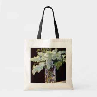 Manet Still Life White Lilacs Budget Tote Bag