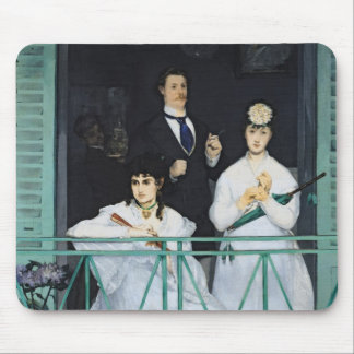 Manet | The Balcony, 1868-9 Mouse Pad