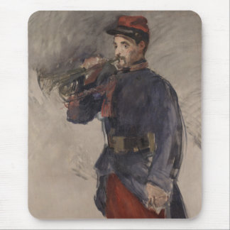 Manet: The Bugler Mouse Pad