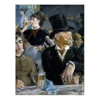 Manet: The Café-Concert, Postcard