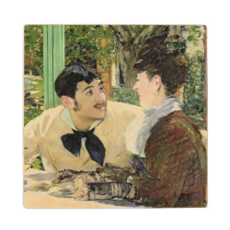 Manet | The Garden of Pere Lathuille, 1879 Wood Coaster