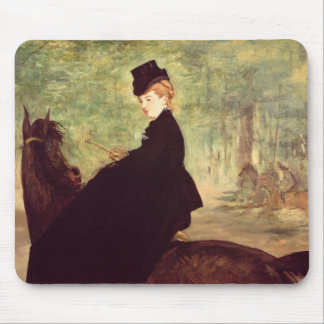 Manet | The Horsewoman, 1875 Mouse Pad