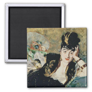 Manet   The Lady with Fans Magnet