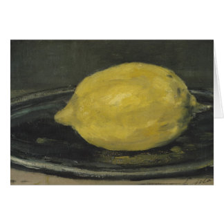 Manet | The Lemon, 1880 Card