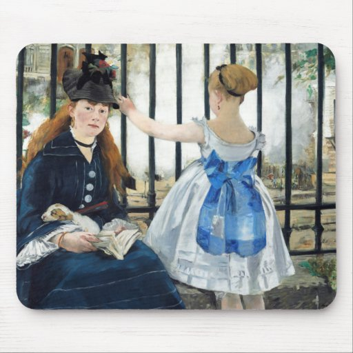 Manet The Railway Mouse Pad