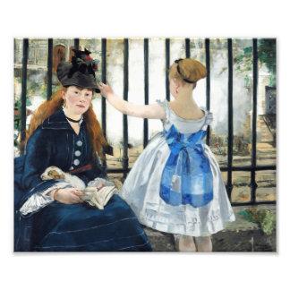 Manet The Railway Print Photo Print