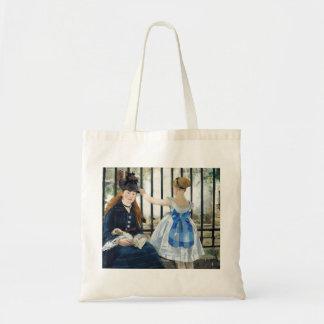 Manet The Railway Tote Bag