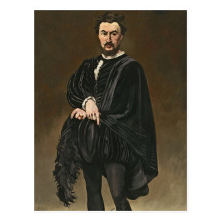 Manet | The Tragedian Actor (Rouviere as Hamlet) Postcard