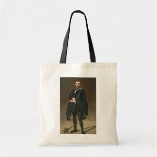 Manet | The Tragedian Actor (Rouviere as Hamlet) Tote Bag