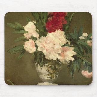 Manet | Vase of Peonies on a Small Pedestal, 1864 Mouse Mat