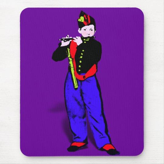 Manet's Little Flautist ala Mouse Pad