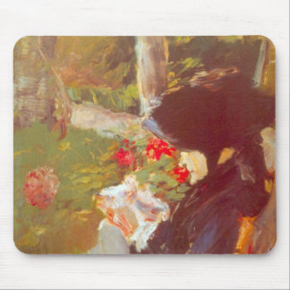 Manet's Mother by Edouard Manet Mouse Pad