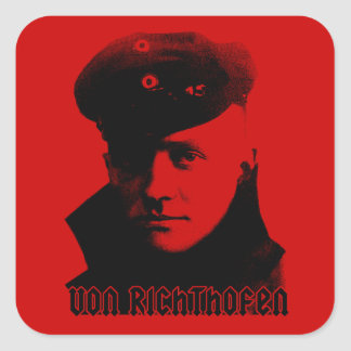 Manfred Von Richthofen Square Sticker