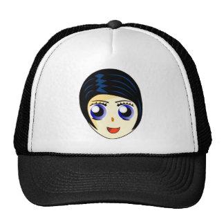 Manga Anime Smiley Face Hats