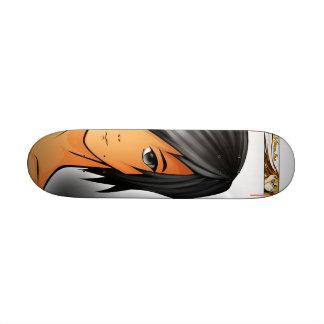 Manga board 21.6 cm old school skateboard deck
