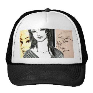 MANGA comics Face Cap