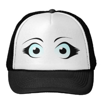 Manga Eyes Hat