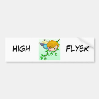 Manga Fairies by Nekoni Bumper Sticker