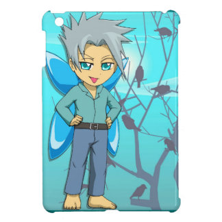 Manga fairies, Teenage fairy boy iPad Mini Covers