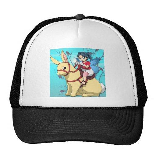Manga faries mesh hat