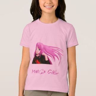 Manga Girl T-Shirt