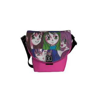 Manga Girls Mini Bag Commuter Bag