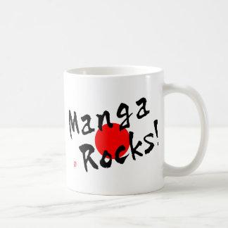 Manga Rocks! Basic White Mug