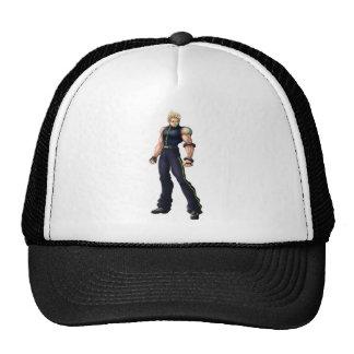 Manga Video Game Hero Hats