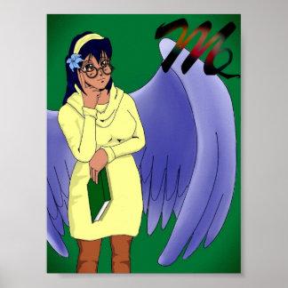 Manga Virgo Poster