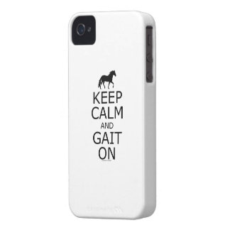 Mangalarga Marchador Keep Calm Gait On iPhone 4 Case-Mate Case