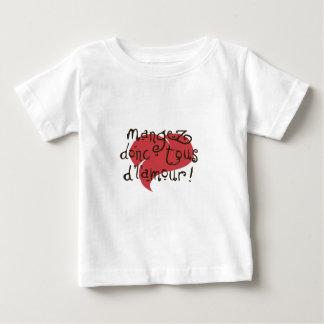 mangez donc tous d'l'amour tee shirt