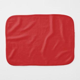 MANGO (a rich red-orange fruity color) ~ Burp Cloths