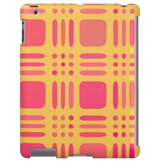 Mango and Papaya Plaid Wannabe iPad Case