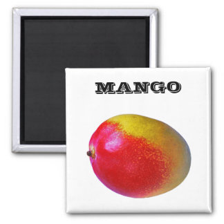 Mango - (Fridge Magnet Square)