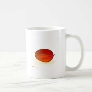 Mango fruit coffee mug