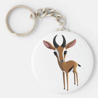 Mango the Gazelle Key Ring