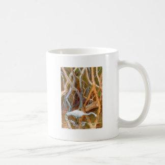 """""""Mangrove Egret No. 4"""" Mugs"""