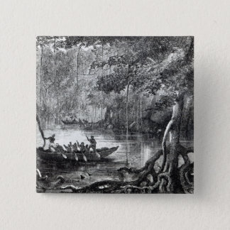 Mangrove Forest' 15 Cm Square Badge