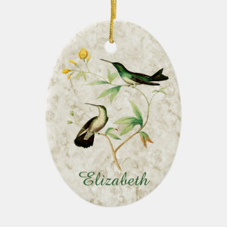 Mangrove Hummingbird Christmas Ornament
