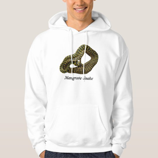 Mangrove Snake Basic Hooded Sweatshirt